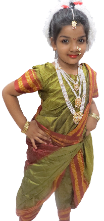 Maharashtrian Lavni Dance Dress