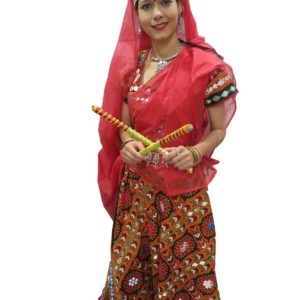 Garba Dress (Red)
