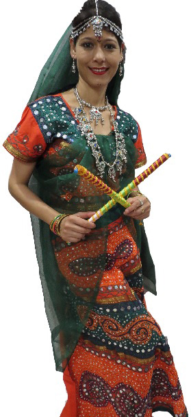 Garba Dress (Green)